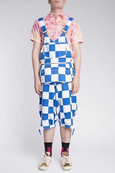 Bernhard Willhelm <br> Checkerboard Overalls
