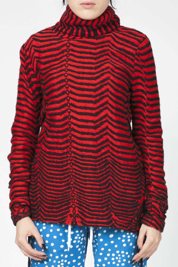 Bernhard Willhelm <br> Stripe jacquard knit