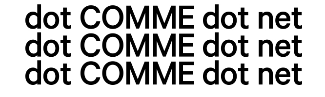 dot COMME