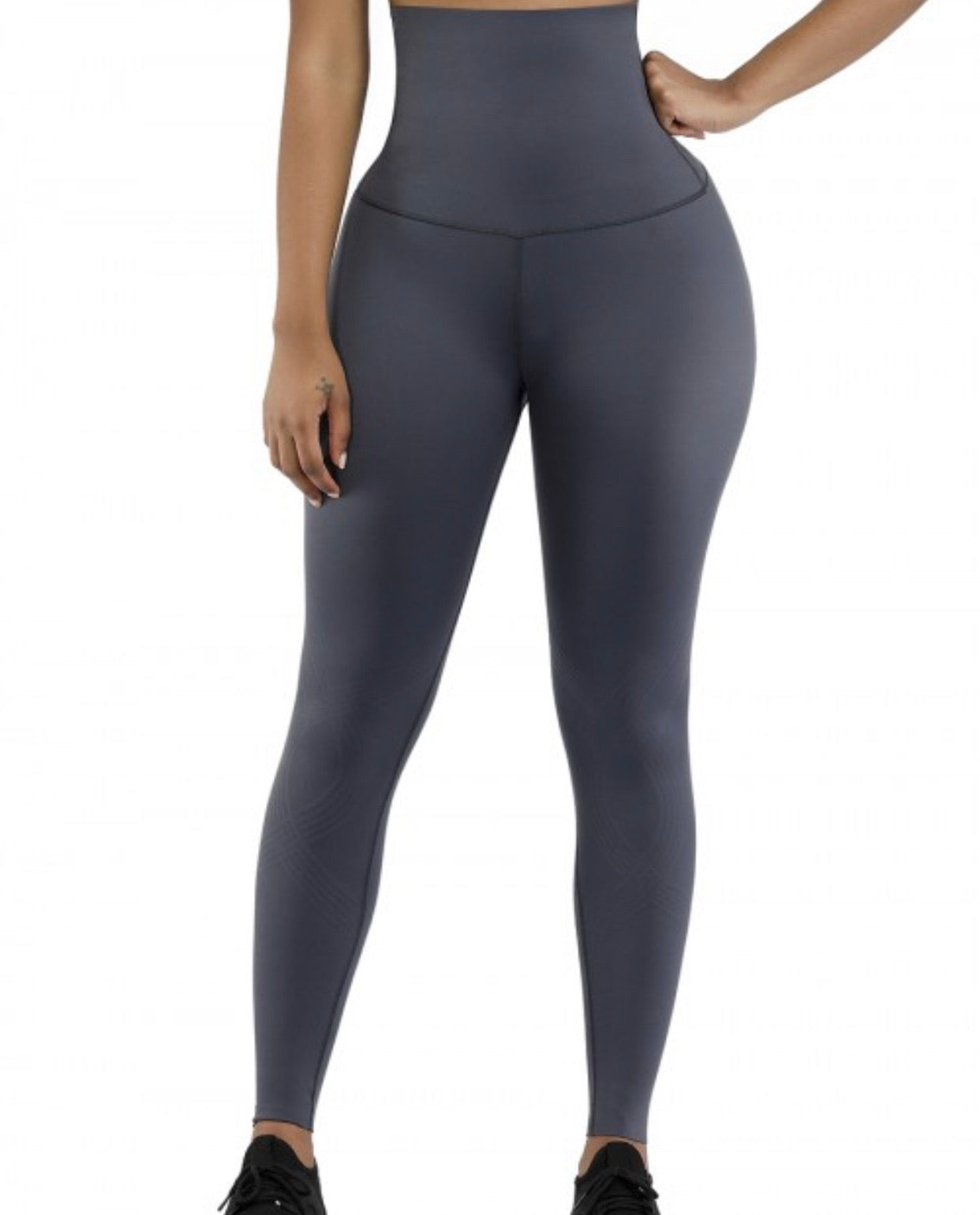 3D Leila's High Grey compression leggings