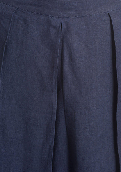 pleated wide pant