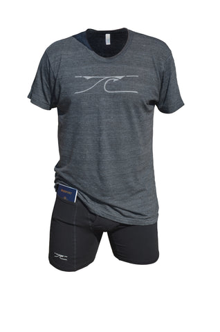 Slim Fit Athletic Tri-Blend T-Shirt