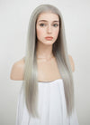 "20"" Long Light Blonde Straight Lace Front Virgin Natural Hair Wig HG063 - wifhair"