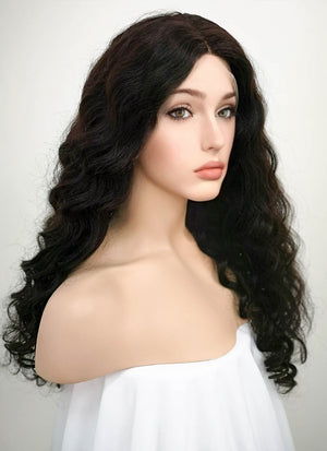 "20"" Long Curly Lace Front Remy Natural Hair Wig - wifhair"