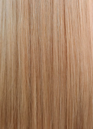 "22"" Long Straight Dirty Blonde Lace Front Virgin Natural Hair Wig HH047"