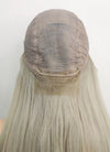 "20"" Long Straight Ash Blonde Lace Front Remy Natural Hair Wig HH103 - wifhair"