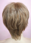 "9"" Short Layer Medium Golden Blonde Mono Crown Virgin Natural Hair Wig HH158 - wifhair"