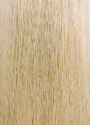"14"" Long Straight Blonde Lace Front Remy Natural Hair Wig HH169 - wifhair"