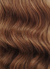 "16"" Long Wavy Brown Lace Front Remy Natural Hair Wig HH173 - wifhair"