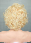 "8"" Short Curly Blonde Bob Lace Front Remy Natural Hair Wig HH185 - wifhair"