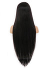 "26"" Long Straight Mocha Brown Lace Front Remy Natural Hair Wig HH039 - wifhair"