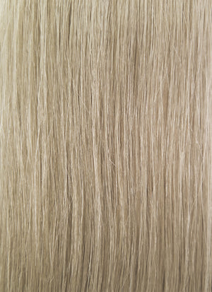 "26"" Long Straight Blonde With Black Roots Lace Front Remy Natural Hair Wig HH040 - wifhair"