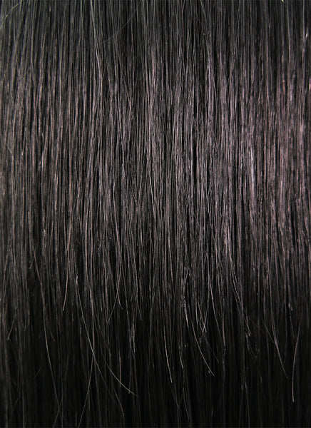 "14"" Medium Straight Jet Black Full Lace Remy Natural Hair Wig HH111 - wifhair"