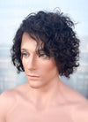 "10"" Short Curly Black Bob Lace Front Remy Natural Hair Wig HHM184 - wifhair"