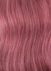 "24"" Long Curly Reddish Pink Lace Front Remy Natural Hair Wig HH060 - wifhair"