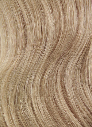 "16"" Long Wavy Dirty Blonde Lace Front Remy Natural Hair Wig HH108"