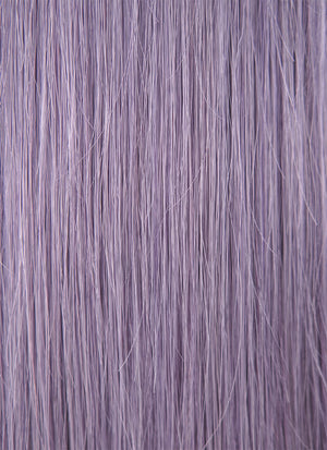 "20"" Long Straight Grey Lilac Lace Front Remy Natural Hair Wig HH118 - wifhair"
