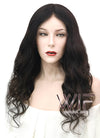 "20"" Long Curly Black Full Lace Virgin Natural Hair Wig HH146 - wifhair"