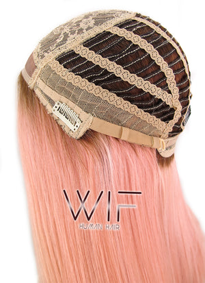 Custom-Made Glueless Lace Natural Hair Wig - wifhair