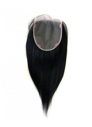 "6"" x 6"" Straight Virgin Hair Lace Base Women Topper HT006 - wifhair"