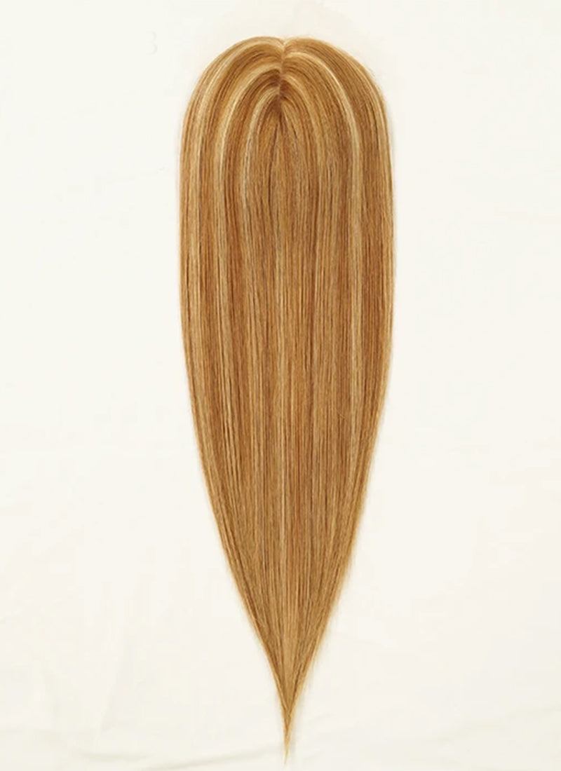 "6"" x 6.5"" Straight Virgin Hair Silk Top Base Women Topper HT008"