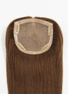 "5"" x 5"" Straight Virgin Hair Silk Top Base Women Topper HT009 - wifhair"