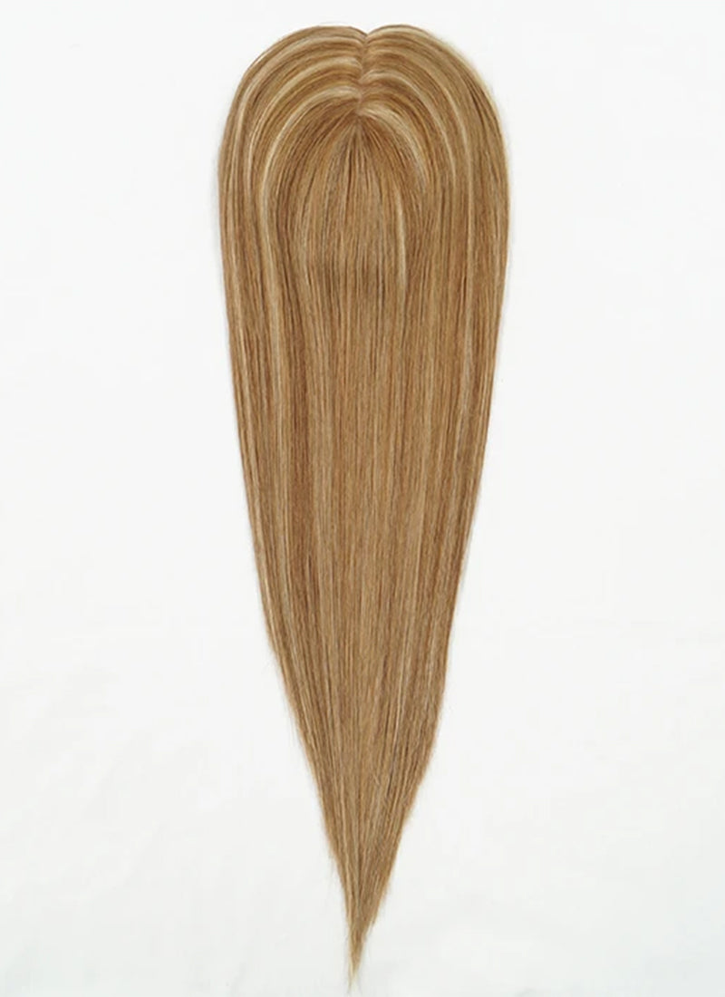 "6"" x 7"" Straight Virgin Hair Silk Top Base Women Topper HT010"