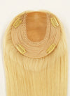 "6"" x 6"" Straight Virgin Hair Silk Top With Weft Base Women Topper HT011 - wifhair"