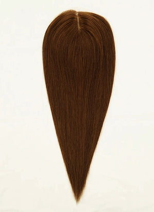 "7.5"" x 8"" Straight Virgin Hair Silk Top With Weft Base Women Topper HT012 - wifhair"