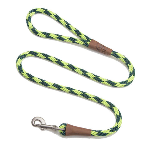 "MENDOTA CLIP LEAD 1/2"" X 6FT - (ASSORTED COLOURS)"