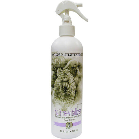#1 ALL SYSTEMS HAIR RE-VITALIZER DOG SPRAY (12oz) 355ml