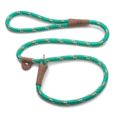"MENDOTA SLIP DOG LEAD 1/2"" X 4FT - (ASSORTED COLOURS)"