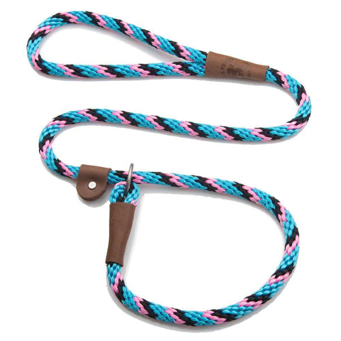 "MENDOTA SLIP DOG LEAD 3/8"" X 6FT - (ASSORTED COLOURS)"