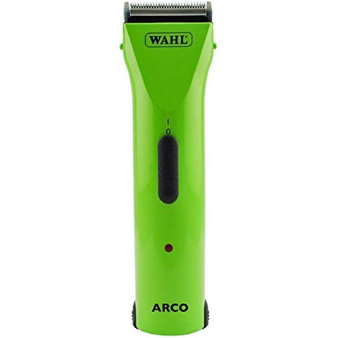 WAHL ARCO CORDLESS DOG CLIPPER with 5-in-1 Blade - LIMITED EDITION LIME GREEN