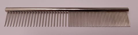 "ANIMAL HOUSE 4.5"" - ROUND BACK - SHORT TOOTH - FACE COMB - FINE/MEDIUM"
