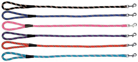 MOUNTAIN CLIP LEASH / LEAD 8mm X 4' (122cm) - ASSORTED COLOURS