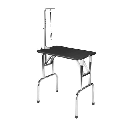 SMALL FOLDING GROOMING TABLE WITH ARM