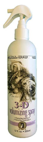 #1 ALL SYSTEMS 3D VOLUMIZING DOG SPRAY (12oz) 355ml