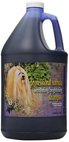 #1 ALL SYSTEMS PROFESSIONAL FORMULA WHITENING/BRIGHTENING DOG AND CAT SHAMPOO - 1 GALLON