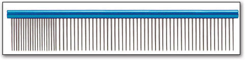"PAW BROTHERS SUPER COMB (FINE/MEDIUM) - 10"" BLUE"
