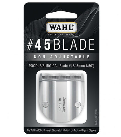 #45 BLADE FOR WAHL 5 IN 1 CLIPPER (i.e. BRAVURA) - NON ADJUSTABLE