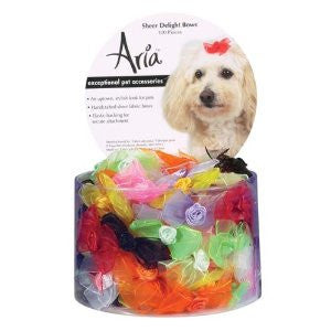 ARIA SHEER DELIGHT BOWS 100 CANISTER