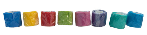 ELASTIC BANDAGES (5cm x 4.5m) - ASSORTED COLOURS AVAILABLE