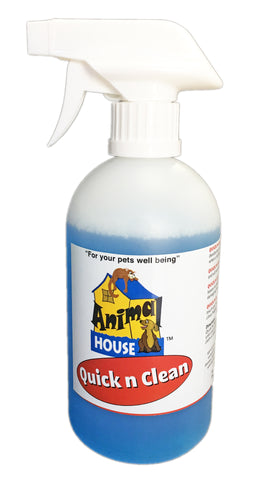 ANIMAL HOUSE QUICK n CLEAN R.T.U.WATERLESS SHAMPOO AND DEODORISER
