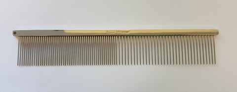 "ANIMAL HOUSE 7.5"" GREYHOUND FINE/MEDIUM COMB - MADE IN ENGLAND"