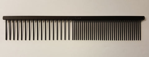 "ANIMAL HOUSE 7"" TEFLON ANTI-STAT MEDIUM/COARSE COMB - MADE IN ENGLAND"