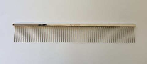 "ANIMAL HOUSE 10"" GREYHOUND LONG PIN COARSE COMB - MADE IN ENGLAND"