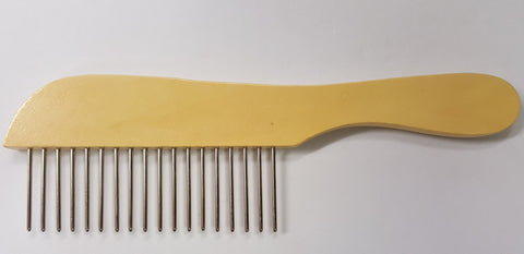 ANIMAL HOUSE POODLE COMB REGULAR TEETH - MADE IN ENGLAND