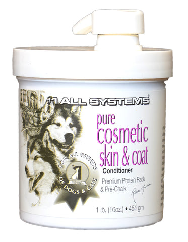 ALL SYSTEMS PURE COSMETIC SKIN & COAT CONDITIONER 454g (1lb) for DOGS