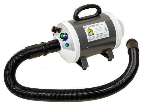ANIMAL HOUSE SINGLE MOTOR PET DRYER - HEAT WITH VARIABLE WIND SPEED - 2000W max power
